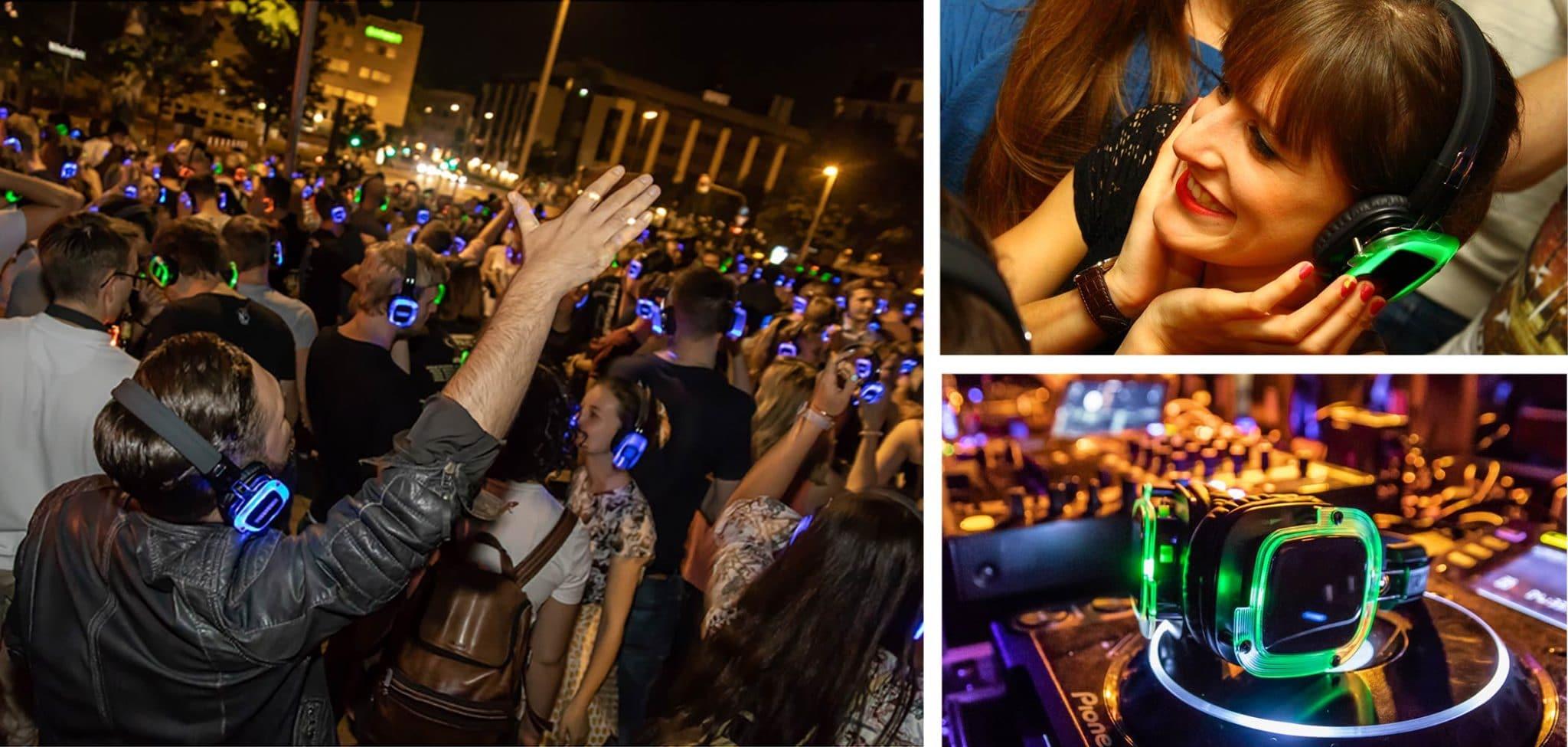 Silent Disco Events - Open Air oder Indoor ein Erfolg.