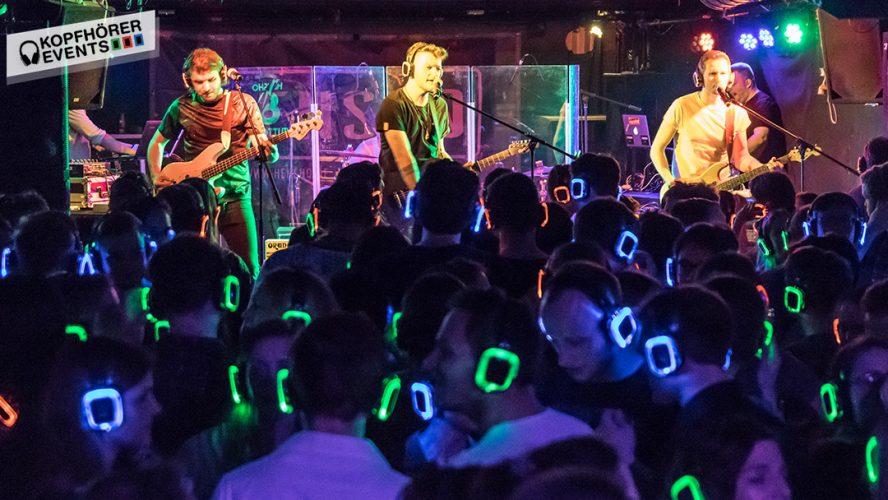 Silent Concert mit Kopfhörern