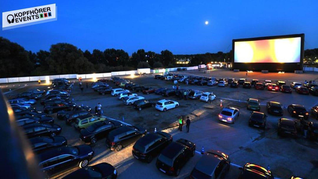 Silent Cinema Kopfhörer Events Autokino