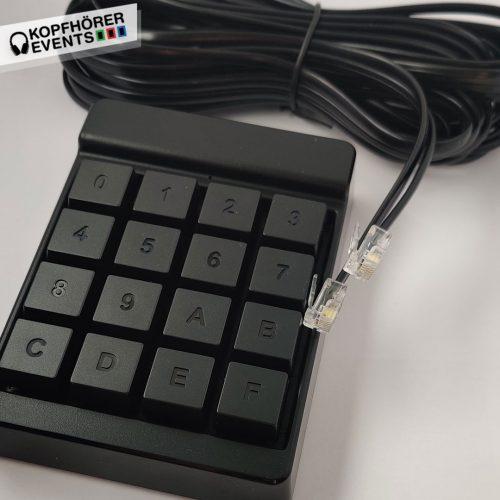 Color Keyboard für Farbwechsel und Einstellung ohne LED