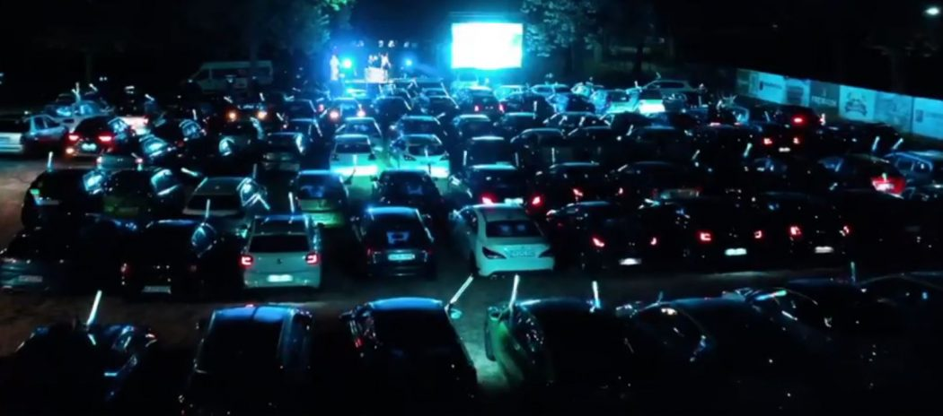 Bild von der Mallorca Autoparty in der Auto Arena Baden