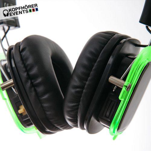 Silent Disco Kopfhörer neon lights superior silent events neonbright beatfoxx silent kopfhörer kaufen