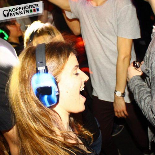 Silent Disco Event mit Silent Kopfhörern von Kopfhörer Events