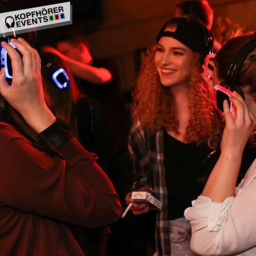 Silent Disco mit Silent Kopfhörern von Kopfhörer Events Deutschland