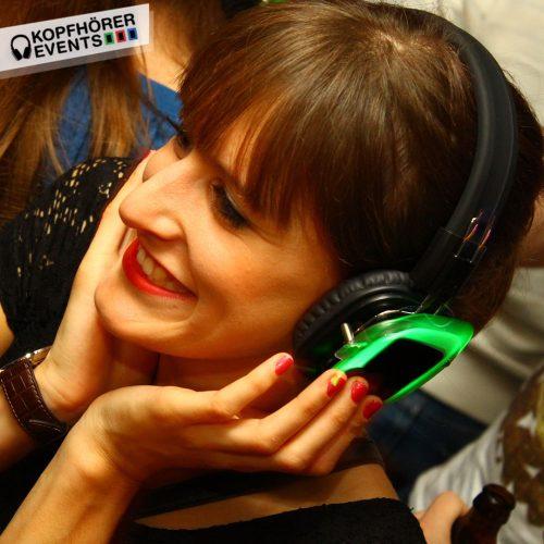 Silent Disco Veranstaltung mit Silent Disco Kopfhörern