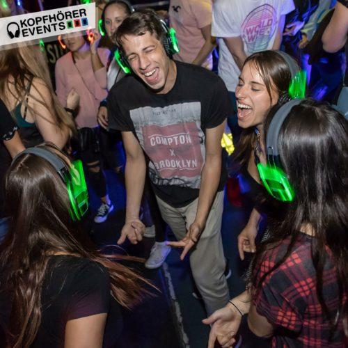 Silent Disco, Silent Disco Kopfhörer, Silent Party, Silent Events, Kopfhörer Events, Kopfhörer Party, Silent Disco Party mit Silent Disco Kopfhörern