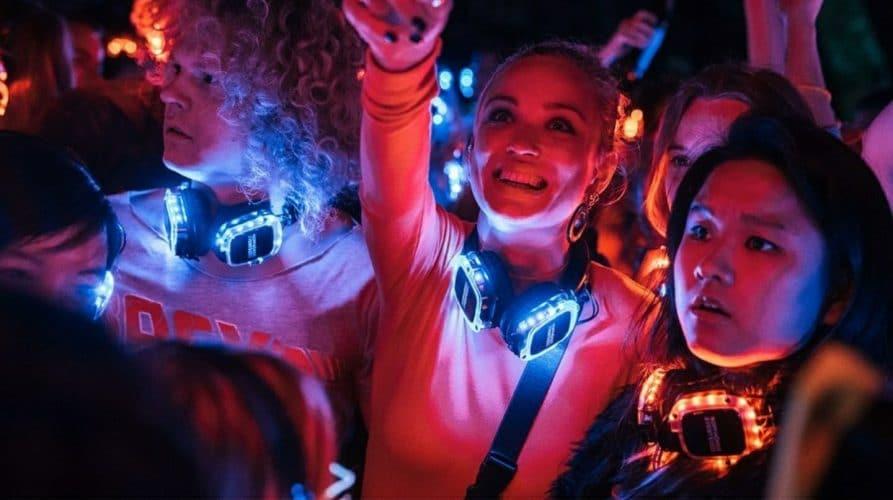 Silent Disco in der Netflix Serie Biohackers