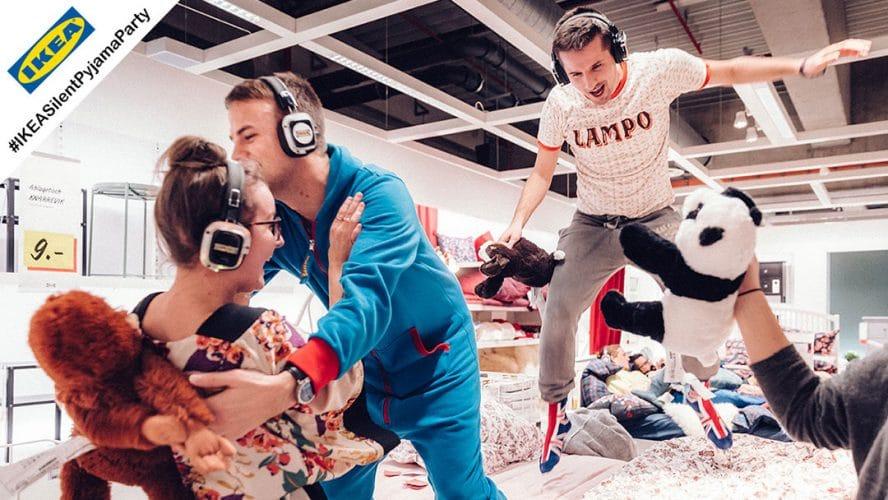 Silent Pyjama Party